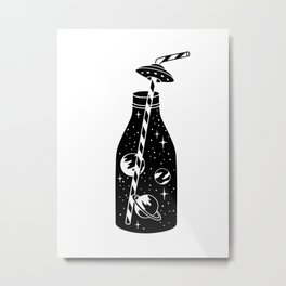 cosmic soda Metal Print