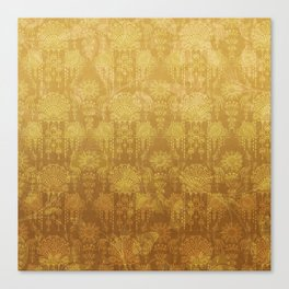 Victorian Potpourri - Faded Splendor Rich Satin - TOPAZ Canvas Print