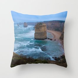 Australian Coastline 1 Throw Pillow