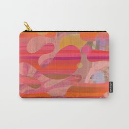 Coral Mystery Carry-All Pouch