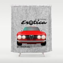Vintage Erotica: 1750 GT Veloce Shower Curtain