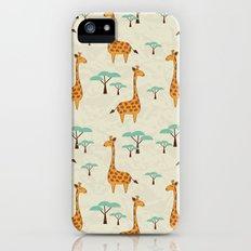 Giraffes Slim Case iPhone (5, 5s)