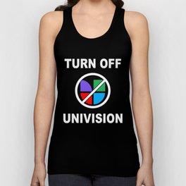 Turn Off Univision Unisex Tank Top
