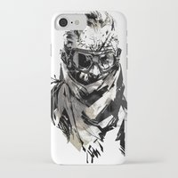 metal gear iPhone & iPod Cases featuring Metal Gear Solid V BS  by Hisham Al Riyami