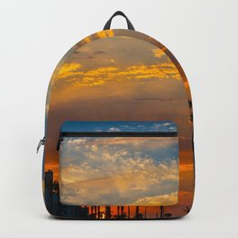 Sunrise Over Huntington Beach Backpack