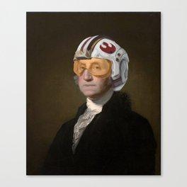 Rebel Allience General Washington Canvas Print