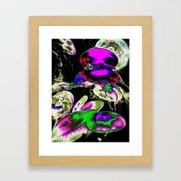 Space Jellyfish  Framed Art Print