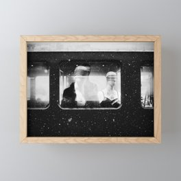 Claiming your Seat Framed Mini Art Print