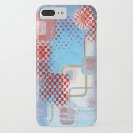 Checked Background iPhone Case