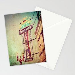 Chop Suey! Portland Oregon Stationery Cards