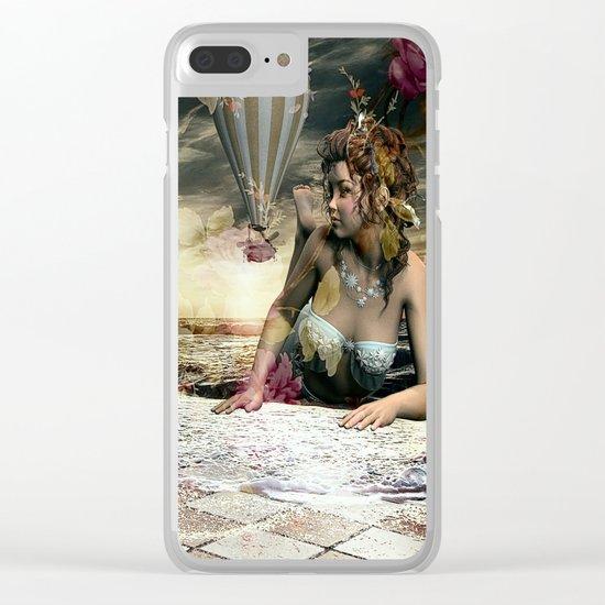 Skyfall in the Garden of Eden Clear iPhone Case