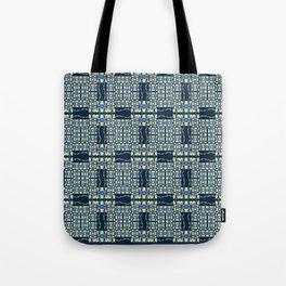 Deep Wata - Gingham Tote Bag