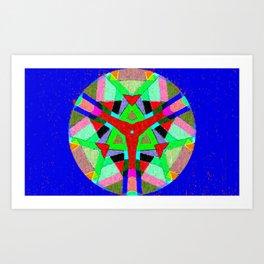 Abstract4 Kaleidoscope Art Print