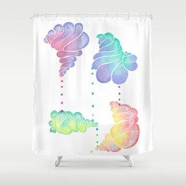 Ice Cream Shells Shower Curtain