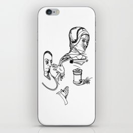 Lady of Dismissal and of Prayer iPhone Skin