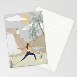 Female Warrior Stationery Cards
