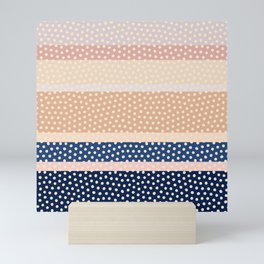 Dots and Stripes 2 Mini Art Print