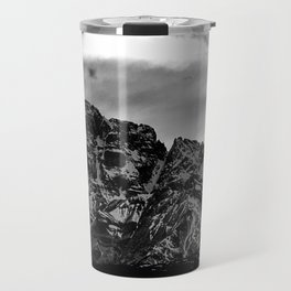 Luminous Mountain Sky Travel Mug