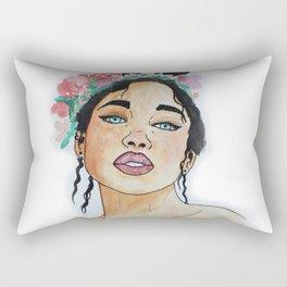 Aurora Eyes Rectangular Pillow