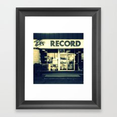 Zia Record Exchange Framed Art Print