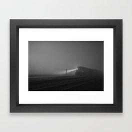 The Houston Express Framed Art Print