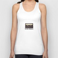 cassette Tank Tops featuring cassette by Red Eyes Apparel