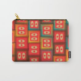 Colorful tiles Carry-All Pouch