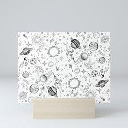 I Need Space Mini Art Print