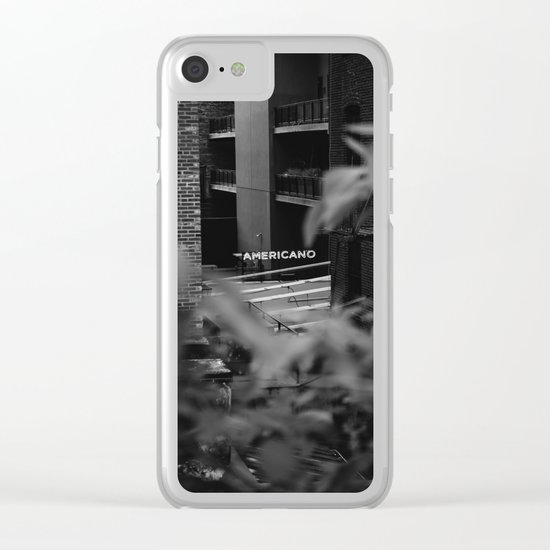 Americano Clear iPhone Case
