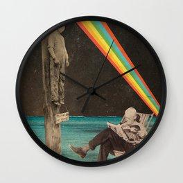 Please do not wake him. Wall Clock