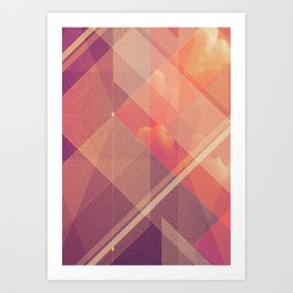 Colorful abstract_1 Art Print