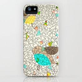 sky of triangles iPhone Case