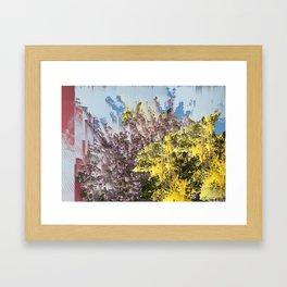 Interference #1 Framed Art Print