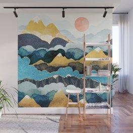 Cloud Peaks Wall Mural