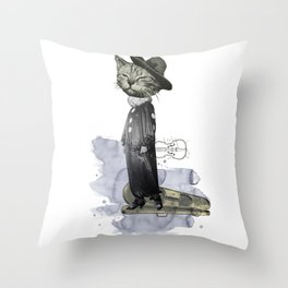 hey diddle diddle 2 Throw Pillow