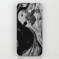 reassurance iPhone & iPod Skins featuring Ink by Magdalena Hristova