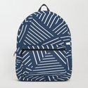 Abstraction Linear Zoom Navy by projectm