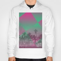 miami Hoodies featuring Miami by Sander Smit