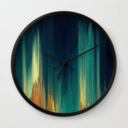 Pixel Sorting 62 Wall Clock