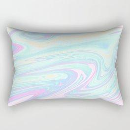 Bubblegum Marble Rectangular Pillow