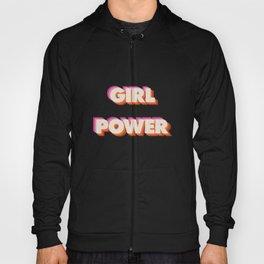 Girl Power // in Orange Pink Beige Hoody