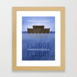 Floody, Floody Framed Art Print