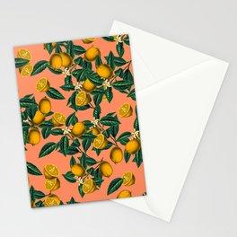 Lemon and Leaf Stationery Cards