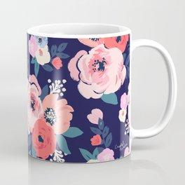 Aurora Floral Coffee Mug