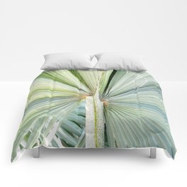 Fanned Palms Comforters