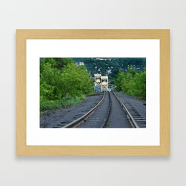 Lift Bridge Framed Art Print