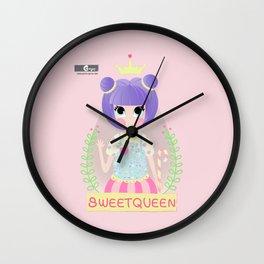 Candy queen Wall Clock