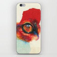 fox eye iPhone & iPod Skin