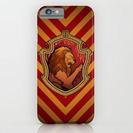 Hogwarts House Crest - Gryffindor iPhone Case