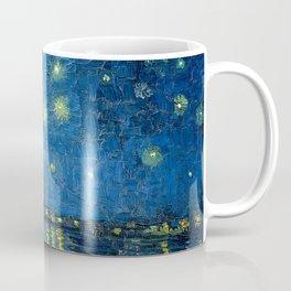 Starry Night Over The Rhone - Van Gogh Coffee Mug
